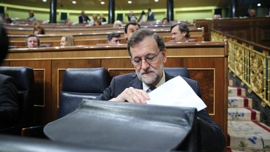 """Podemos y Compromís piden un Pleno del Congreso en 48 horas para que Rajoy hable de """"la corrupción del PP"""""""