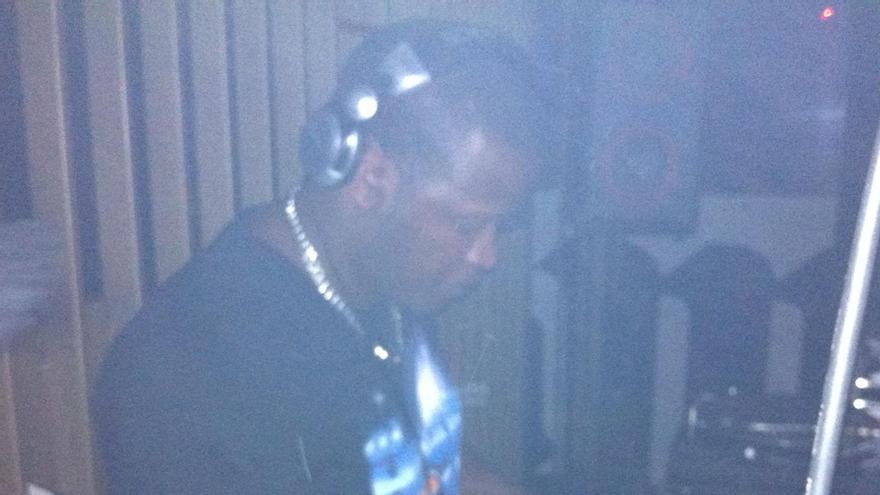 Conrado Semedo, en una foto de su trabajo como dj.