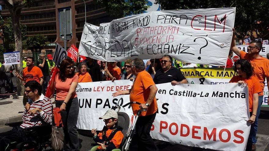 Dependencia Castilla-La Mancha. Foto: Enrique Rivas   Facebook