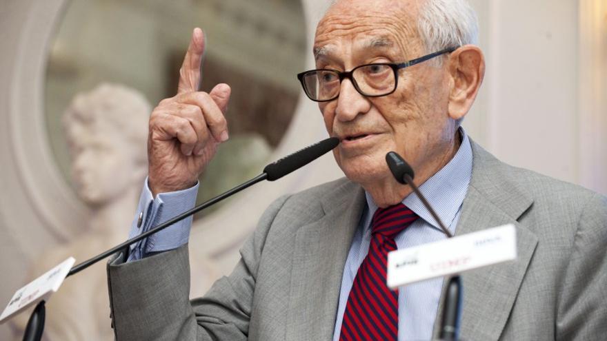 El exdirector del Banco de España, Aristóbulo de Juan