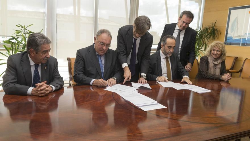 Salvador Blanco firmó en noviembre la inyección de 15 millones a Sidenor.