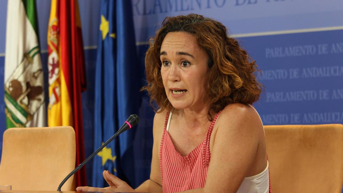 Ana Naranjo, parlamentaria andaluza de Unidas Podemos por Andalucía.