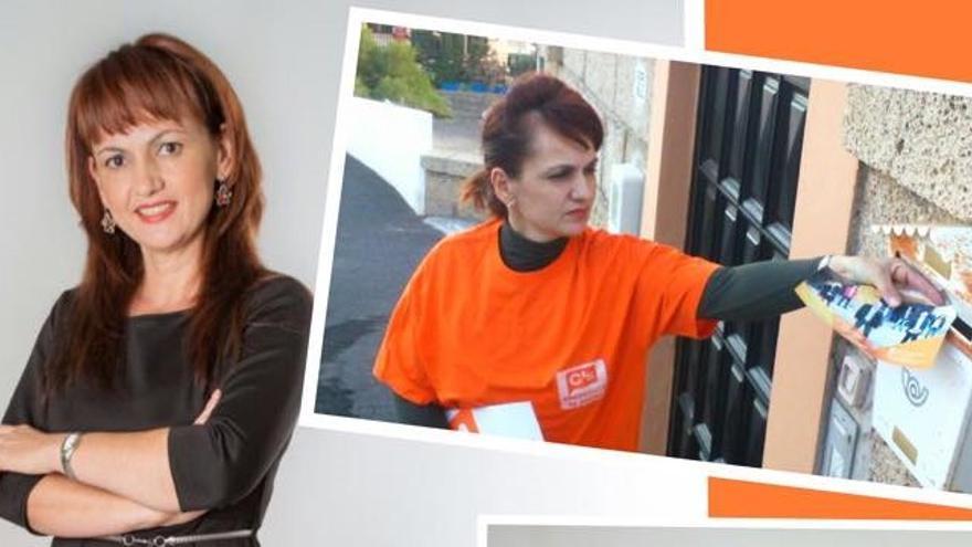 Ana Delia Cruz, coordinadora de Ciudadanos en el municipio tinerfeño de Granadilla de Abona