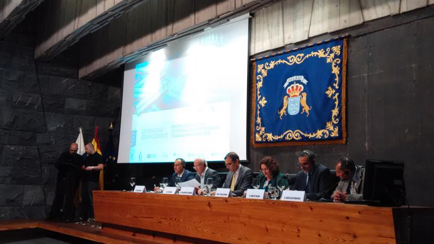 Primer día de las jornadas de Co-Working enmarcadas en el proyecto Adecot Exe y organizadas por la Dirección General de Comercio del Gobierno de Canarias