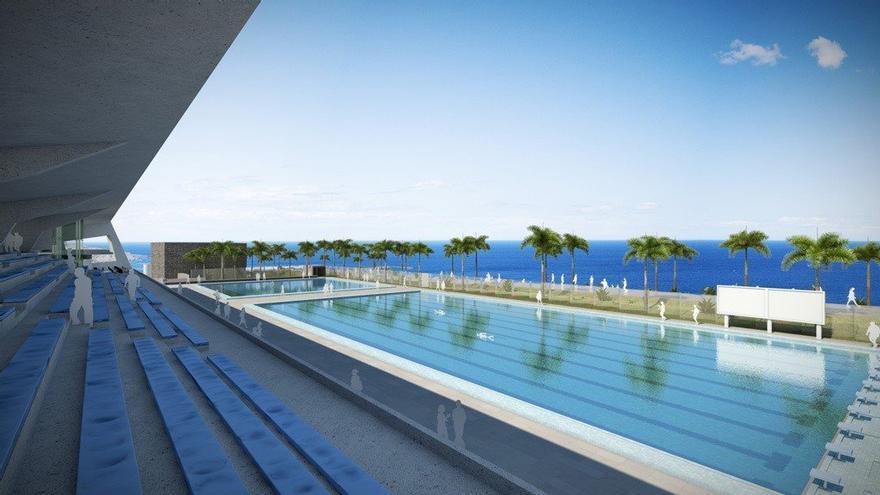 Casi 12 millones de euros para las obras de la piscina de Puerto de la Cruz