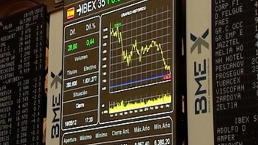 El Ibex rebota un 0,44%