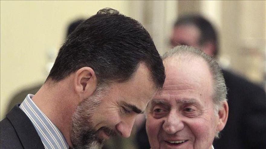 """Las Cortes proclamarán como Rey a Felipe de Borbón en un plazo """"muy breve"""""""