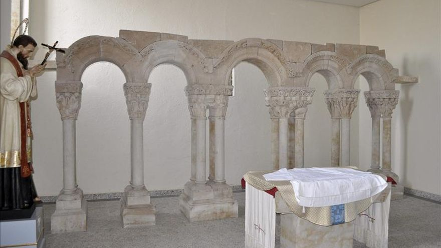 El claustro de Palamós es el de la antigua catedral de Salamanca