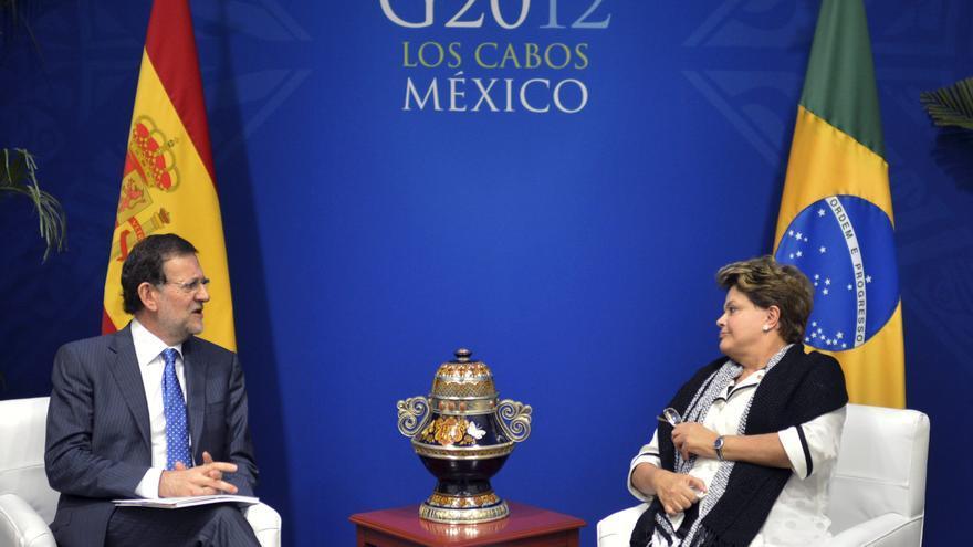 Rajoy recibirá en Madrid a Rousseff tras la Cumbre Iberoamericana de Cádiz