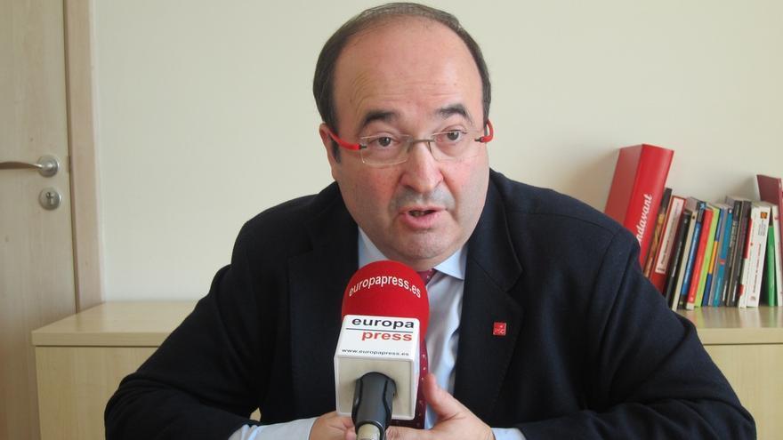 """Iceta (PSC) ve bien que el Congreso del PSOE sea en primavera pero """"lo importante"""" es que se haga """"un buen congreso"""""""