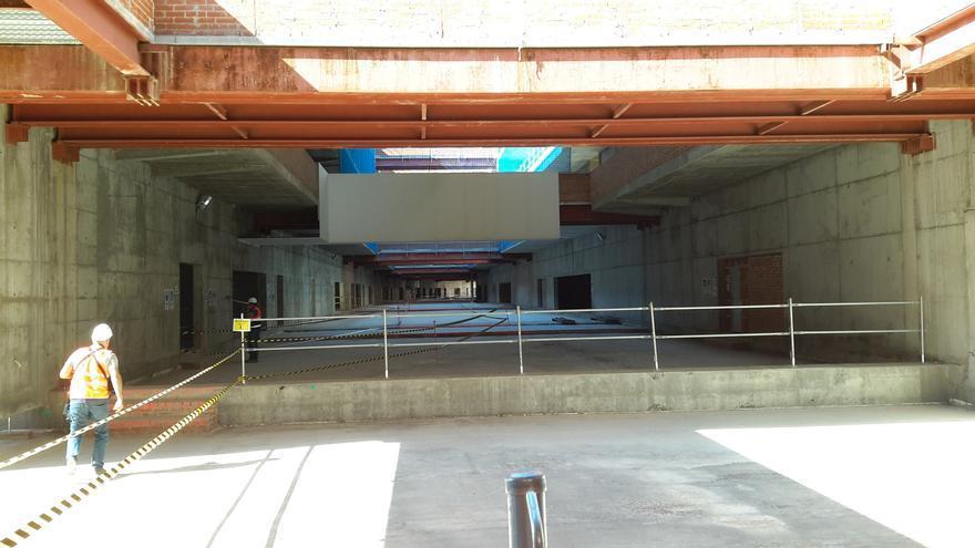 Futuro Vestíbulo del nuevo Hospital de Toledo