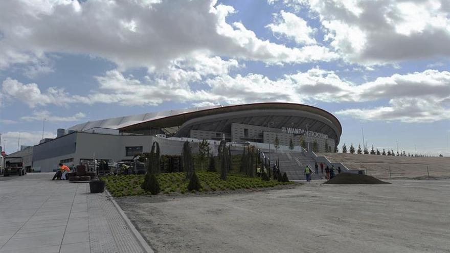 El TSJM anula la reforma del plan urbanístico del estadio Wanda Metropolitano