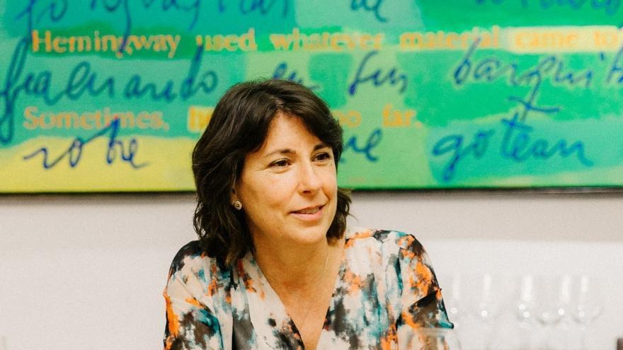 Maria Diago, autora y coordinadora de la guía de restaurantes sostenibles de la Comunitat Valenciana.