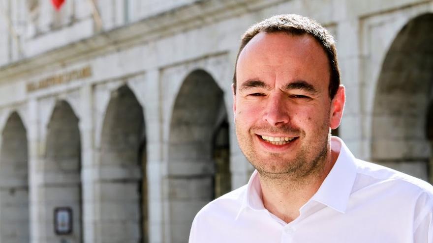José Ramón Blanco, candidato de Podemos a la Presidencia de Cantabria.