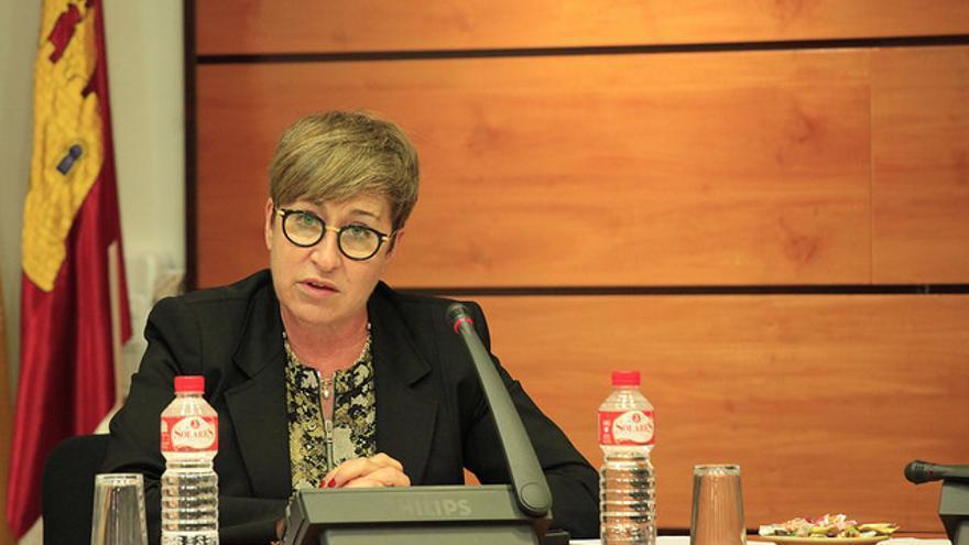 La directora general de Planificación, Ordenación e Inspección Sanitaria, María Teresa Marín