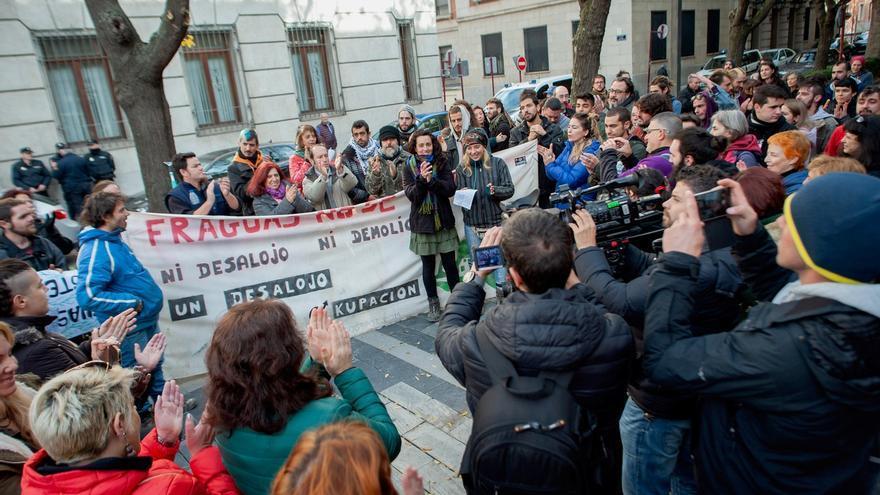 Manifestación de Fraguas Revive ante la Audiencia Provincial de Guadalajara