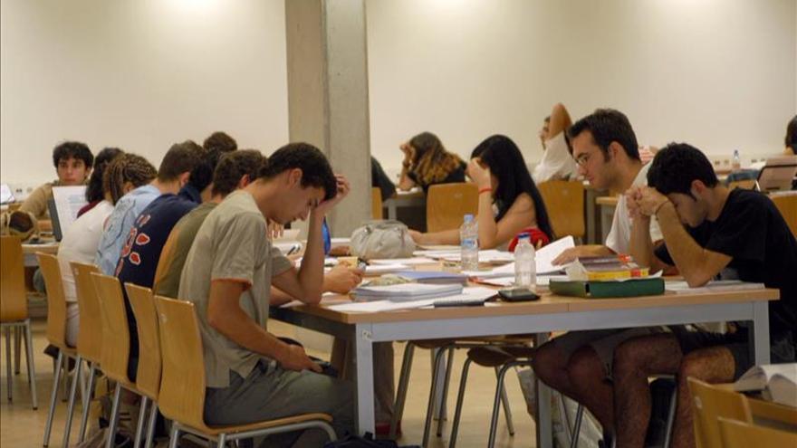 El 45 por ciento de los adultos españoles en 2012 no estudió más allá de la secundaria