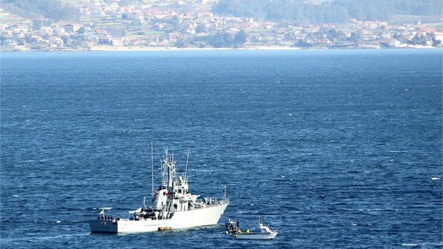 Retoman la busca del marinero desaparecido en el naufragio del Sen Querer Dos