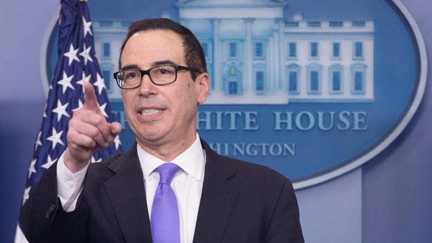 El secretario del Tesoro de EE.UU. habla con Meade de comercio y el TLCAN