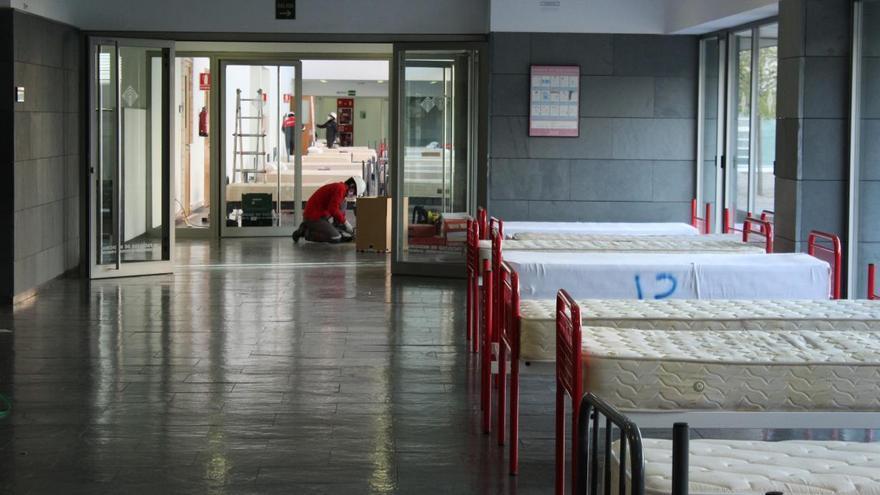 Camas preparadas en Albacete