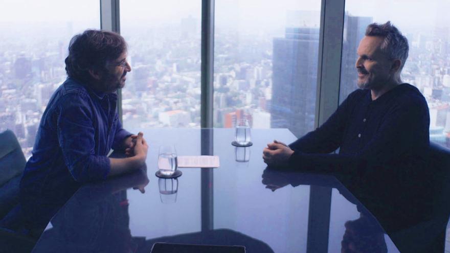 Jordi Évole y Miguel Bosé en 'Lo de Évole'