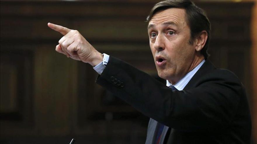 Rafael Hernando dice que el nuevo portavoz del PP en el Congreso afrontará un gran reto