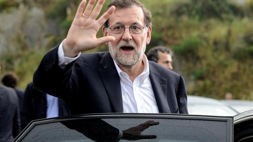 Rajoy firma hoy en Pamplona el acuerdo de coalición PP-UPN y visitará Logroño