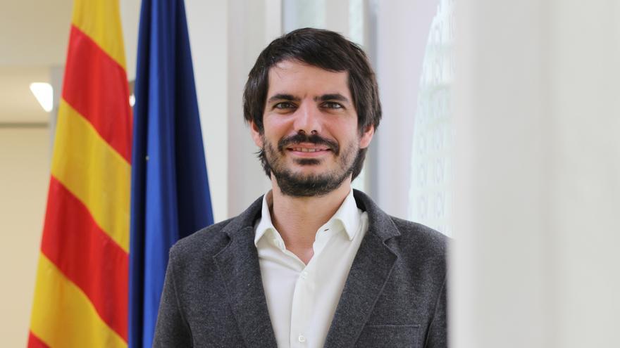 Ernest Urtasun, candidato de ICV a las elecciones al Parlamento europeo. (Foto: ICV)