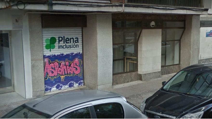Las oficinas de la Fundación Aspanias en Burgos.