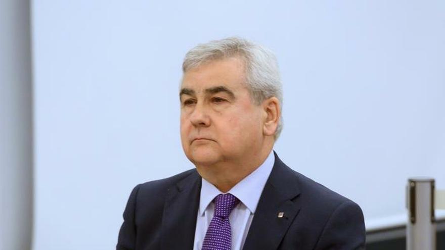 El exsecretario general de Interior Cèsar Puig, en la primera jornada del juicio.