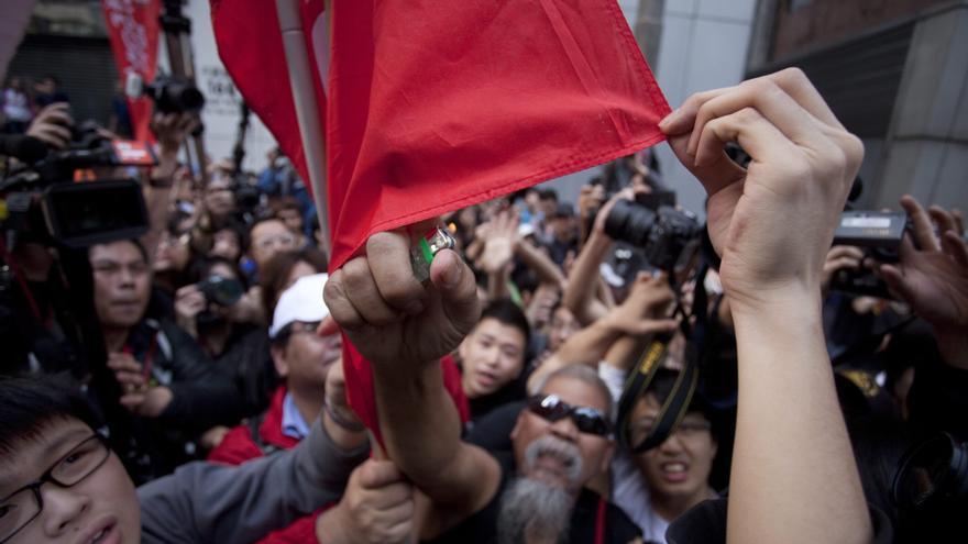Fuerzas democráticas pierden apoyo popular en las legislativas de Hong Kong