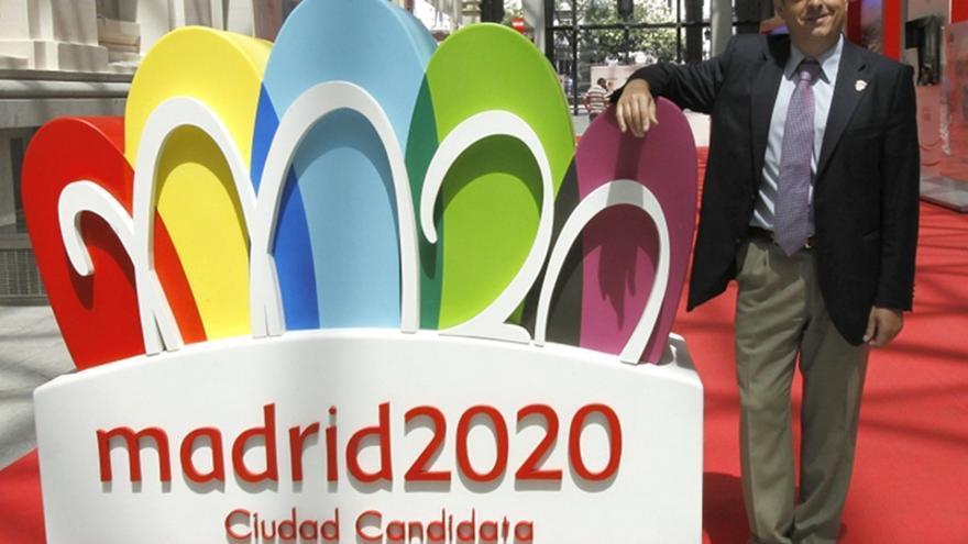 El consejero delegado de la candidatura Madrid 2020, Víctor Sánchez. Efe / Bernardo Rodríguez