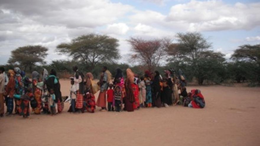 Refugiados Somalíes Del Campo De Dabaab (Kenia)