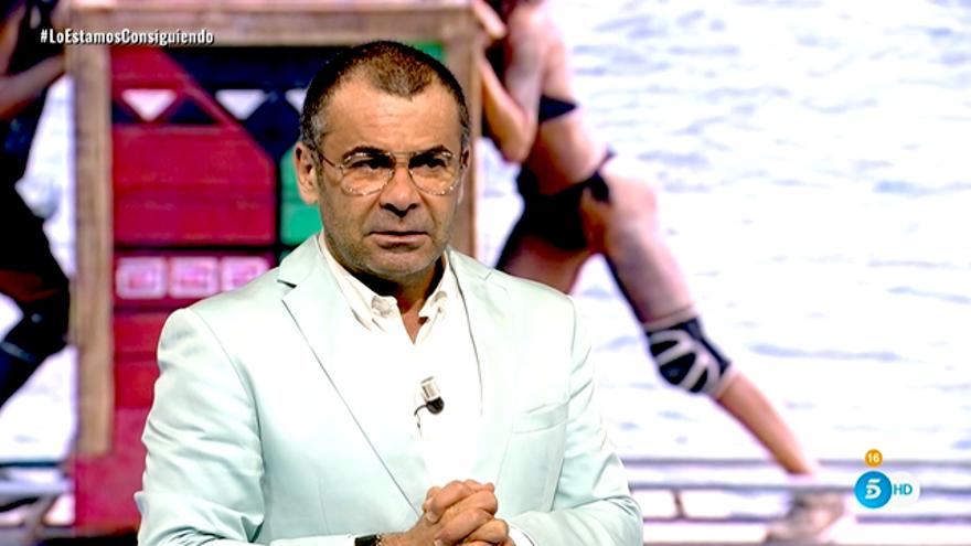 Jorge Javier Vázquez, en la décima gala de 'Supervivientes'
