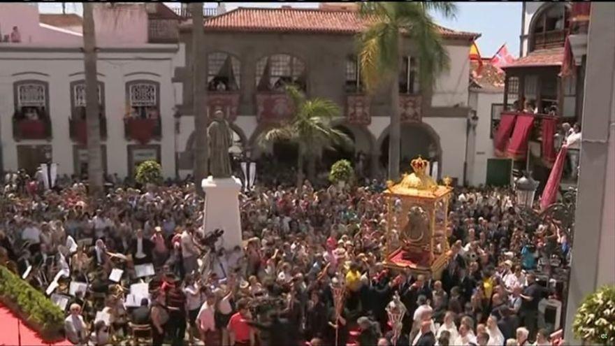 El Ayuntamiento  de la capital muestra su satisfacción por la disposición del Obispado de celebrar la Bajada de la Virgen en el verano de 2021