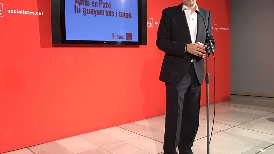 """Patxi López cree que un referéndum """"por encima de la legalidad"""" fractura la sociedad"""