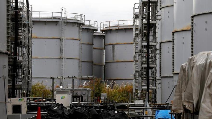 Detectan un aumento de la temperatura en el muro helado de Fukushima