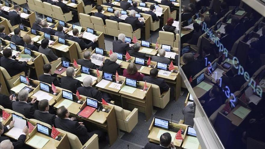 La Duma rusa estudiará mañana una ley para prohibir la propaganda gay