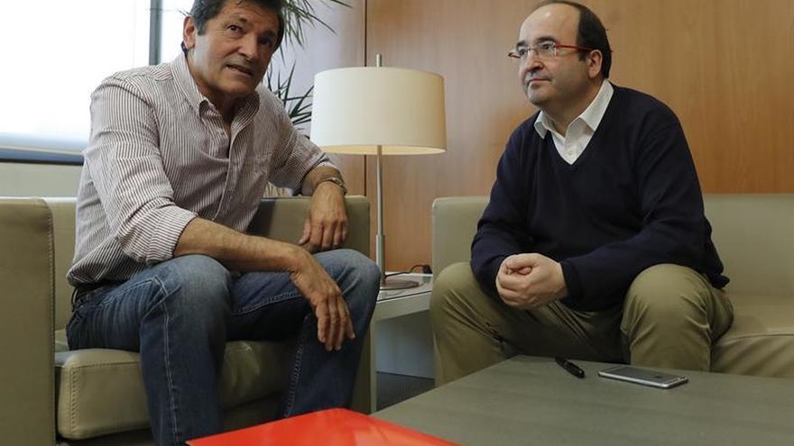 Fernández e Iceta se dan dos meses para que una comisión resuelva su crisis