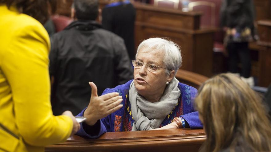 María Victoria Hernández, diputada del PSOE por La Palma en el Parlamento de Canarias.