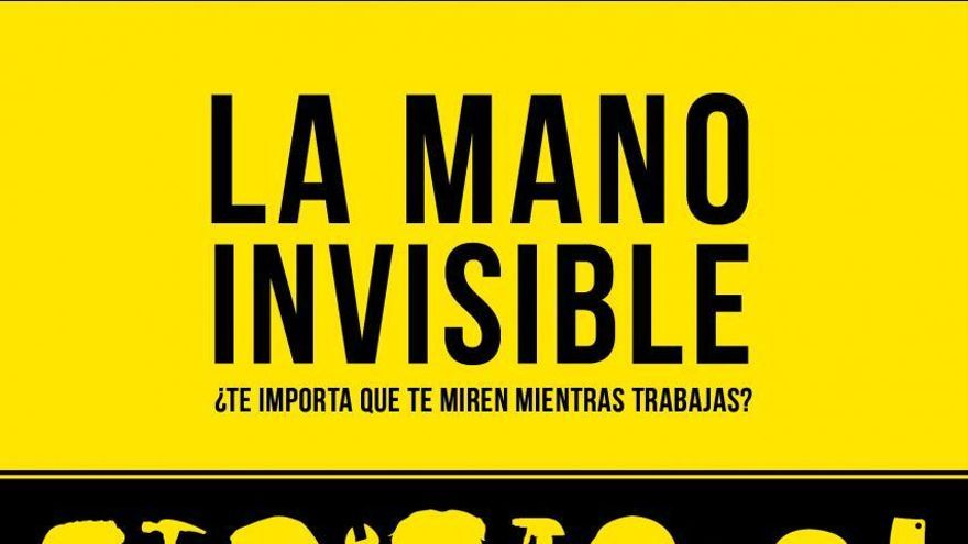 Cartel de 'La mano invisible'