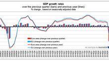 Evolución del PIB europeo del primer trimestre de 2020.