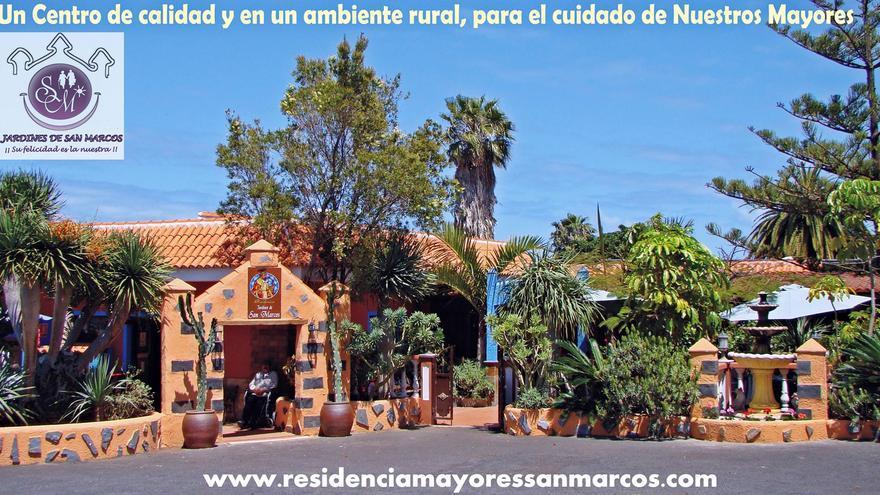 Residencia de mayores Jardines de San Marcos, en Tegueste, Tenerife