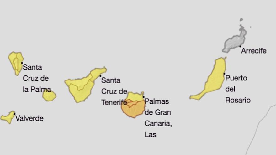 Ampliado el aviso de riesgo por altas temperaturas en La Palma hasta este miércoles