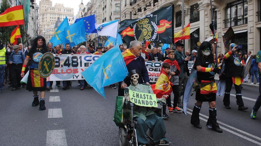 Miles de personas se movilizan en Madrid este sábado convocados por Jusapol