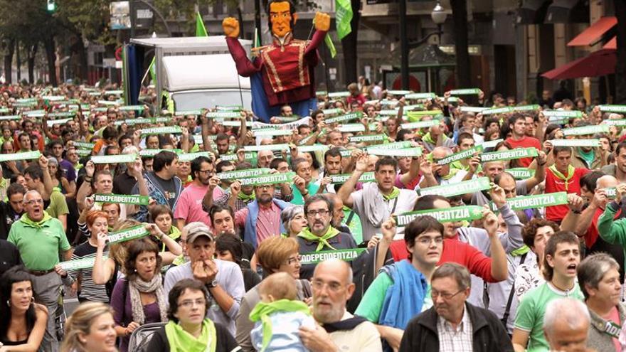 El 23 % de los vascos está a favor de la independencia y un 36 % en contra