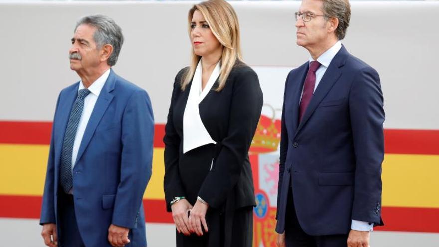 """Susana Díaz: """"La Constitución es lo mejor que le ha pasado a España"""""""