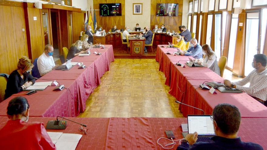 Pleno del Cabildo de La Palma celebrado este viernes.