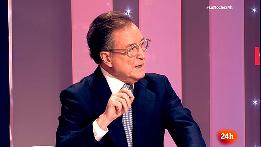 José Hervás, en su despedida de 'La noche en 24 horas'