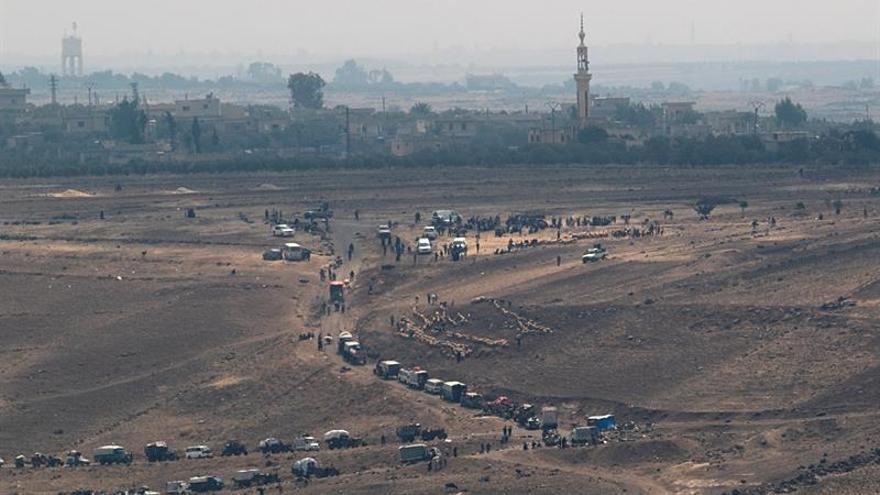 Seis oficiales del Ejército sirio muertos por la explosión de mina en el sur